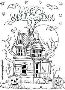 casa stregata hallooween
