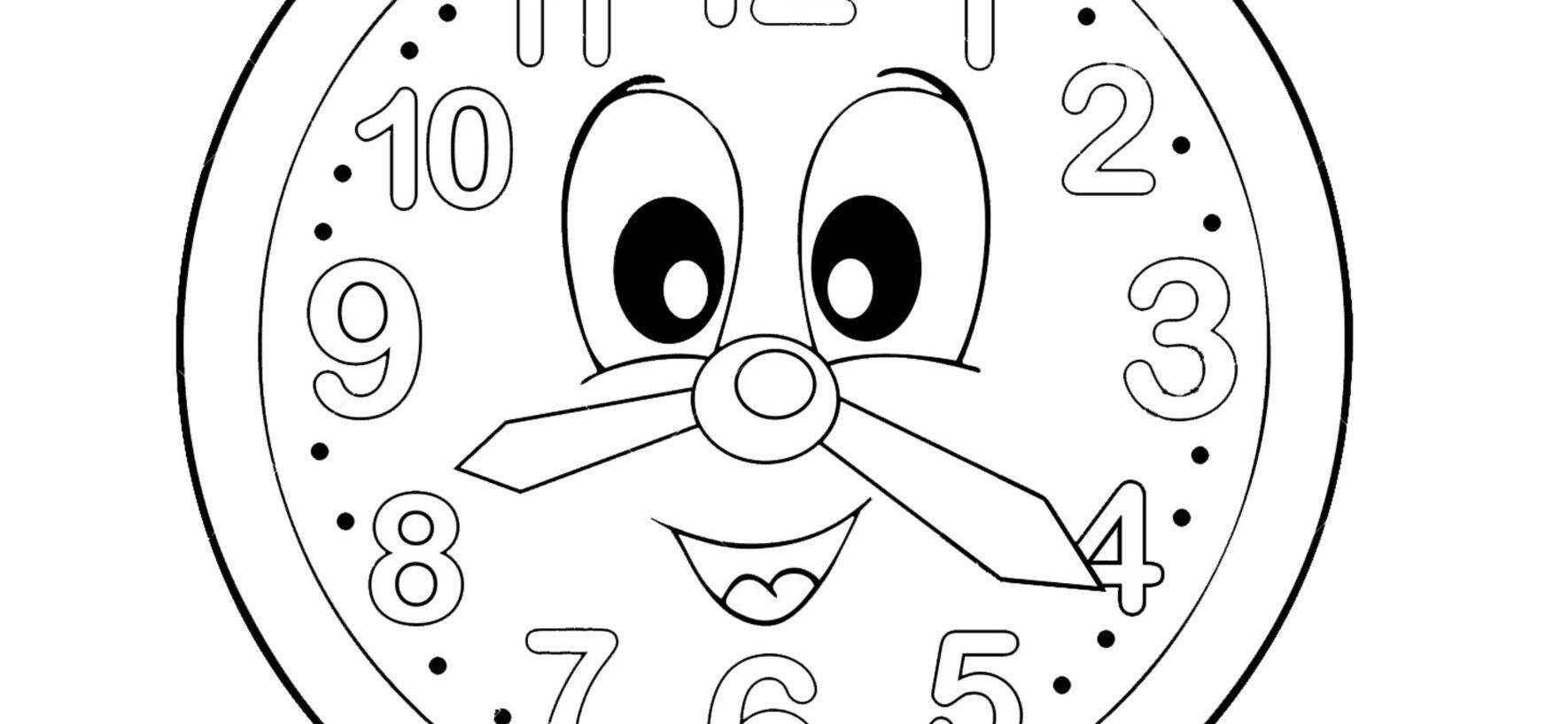 Dire l'ora in inglese: orologio e schede