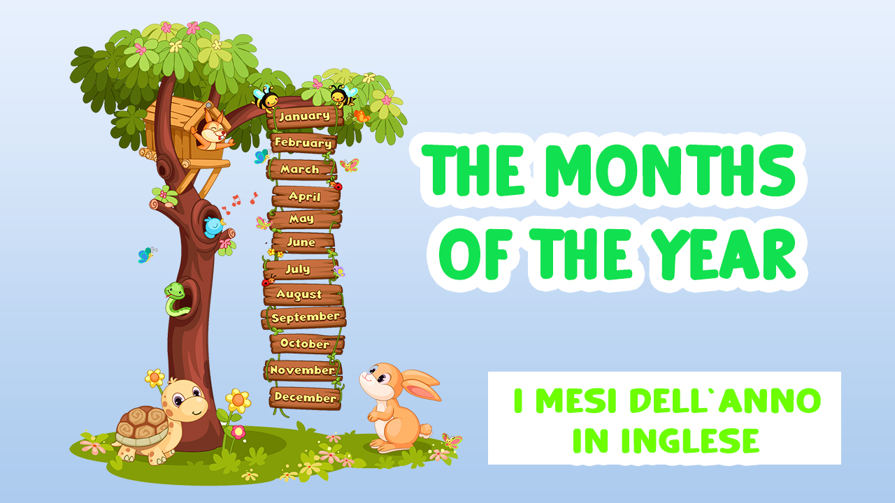 I mesi dell'anno in inglese | The Months of the Year