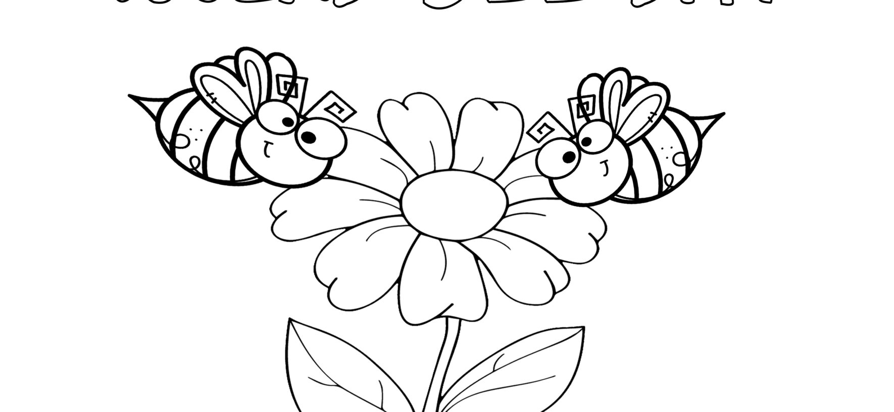 Ciclo Vitale di un'ape e disegno da colorare - Life Cycle of a BEE