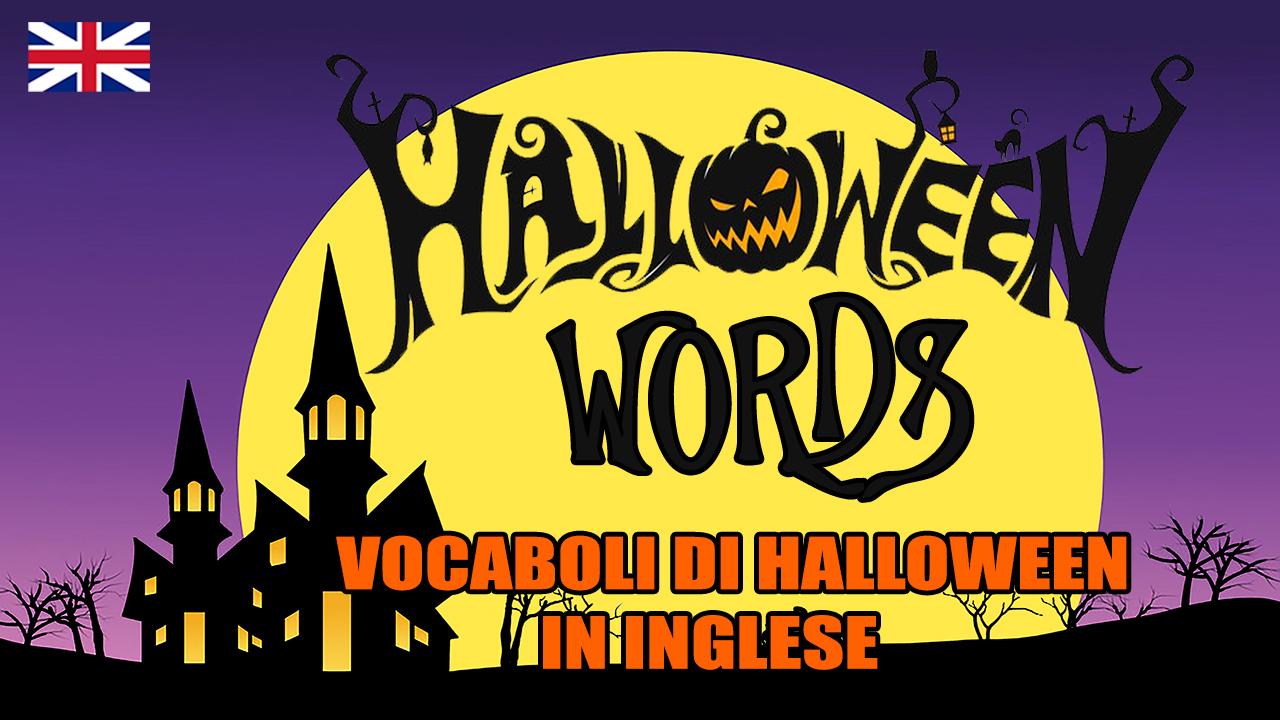 Halloween Words | Le parole di Halloween in inglese